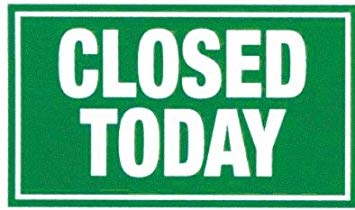 City Office is Closed today