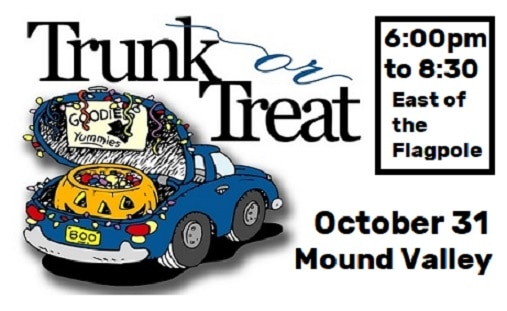 Mound Valley Trunk or Treat