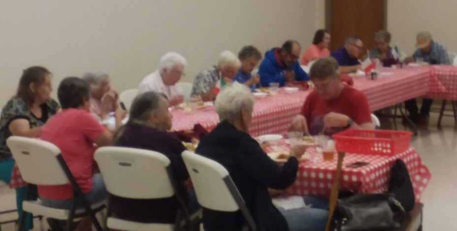 3rd Saturdays Senior Dinner @ Mound Valley Community Center